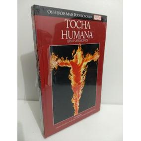 Tocha Humana: O Tocha - Marvel Salvat Capa Vermelha