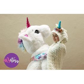 Unicornio_capucha_manta_cobija_pijama_regalo Para Niña