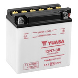 Bateria Moto Harley Yuasa 12n7-3b 12v 7ah Solomototeam