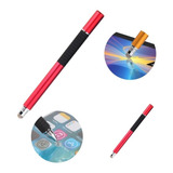 Caneta Touch Screen 2 Em 1 Stylus Ponta Fina iPhone Android