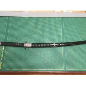 Espada Musashi Katana Preta Com Lamina Dupla Raridade Oferta