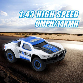 Nuevo Coche Rc 2,4 G 1:43 Mando Racing Rally Monster Truck