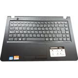 Carcasa Teclado Negro Touchpad Compaq C21 21n1f5ar Outlet