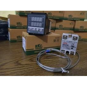 Kit: Pirometro Digital, Ssr Y Termopar K Control Temperatura