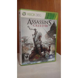 Assassins Creed Iii 3 (con Manual) Xbox 360 Od.st