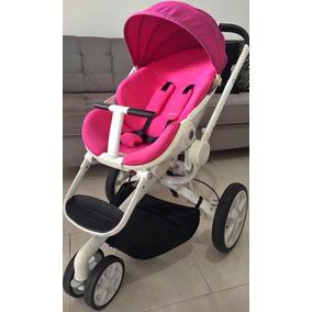 Carrinho De Bebê Moodd Cor Pink Passion Quinny+ Bb Conforto