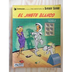 Lucky Luke El Jinete Blanco! Ediciones Junior 1977! Espanhol