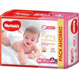 Huggies Natural Care Para Ellas/ellos Mx68 Gx68 Xgx58 Xxgx56