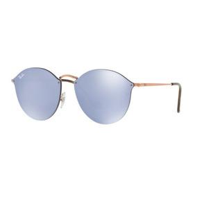 Oculos Sol Ray Ban Rb3574n 90351u 59mm Bronze Violeta Espelh e2d62ba344