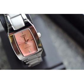 7fdb1c15cbf Relogios Femininos Visor Rosa - Relógios De Pulso no Mercado Livre ...