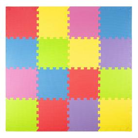 f0b12ac374f Tapete Alfombra 16fichas Foam Play Mat Puzzle Juego Infantil