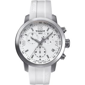 Reloj Tissot Prc 200 Blanco Hombre T055.417.17.017.00