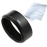 Fotasy 49mm Metal Screw-in Lens Hood For Pentax And Takumar