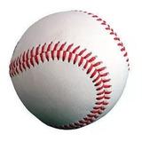 Bola De Beisebol Maciça+revestimento Couro 145g