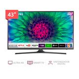 Tv Samsung 43 Smart 4k Un43mu6100