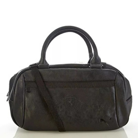 Bolsa Puma Scuderia Ferrari Ls Handbag Black Mate 70259975875e