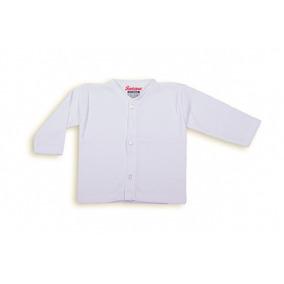 Camiseta Santana Bebé Manga Larga Blanca
