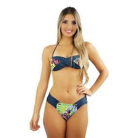 45baa9a2a76 Biquini Tomara Caia 2018 - Biquinis Femininas Azul no Mercado Livre ...