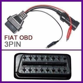 Cabo Adaptador Fiat 3 Pinos/obd2 16 Pinos - Frete Grátis!!!