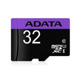 Memoria Micro Sd Adata 32gb Clase 10 P/celulares By Tecnowow