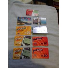 Lote Cartões Antigos Tim