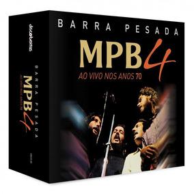 Cd Mpb-4 Barra Pesada - Ao Vivo Nos Anos 70-box (5cds)