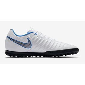 Chuteira Society Nike Branca E Azul - Chuteiras no Mercado Livre Brasil 9a9f5b293ceed