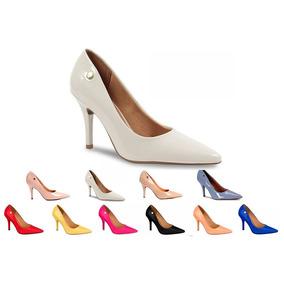 7c1dd05b1c Sapato Alto Rosa Pink - Sapatos Nude no Mercado Livre Brasil
