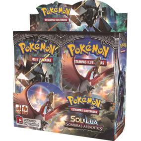 Booster Box Pokemon Sombras Ardentes Lacrada