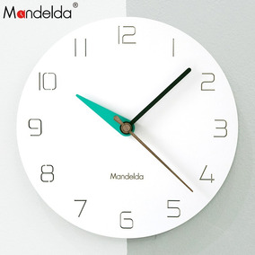Reloj De Pared Estilo Minimalista Mandelda C340 Envio Gratis