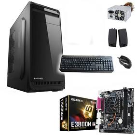 Pc Oficina Mother + Micro Amd E2-3800 Quad Core 8gb 1 Tb