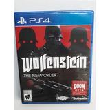 Wolfenstein Juego Ps4 Play 4 Nuevo Y Sellado En Español.