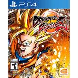 Dragon Ball Fighter Z Ps4 Digital Gcp