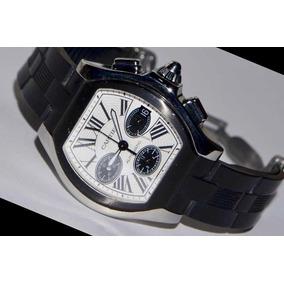 a86a5defa1e Relógio Cartier Santos Dumont Skeleton - Relógios no Mercado Livre ...
