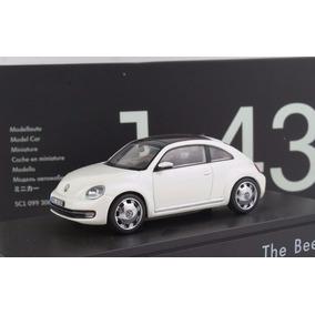 Vw The Beetle Fusca Schuco 1:43 Carros Miniaturas Réplicas