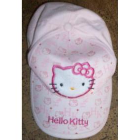 Gorro Con Vicera Rosa Con Hello Kitty cdd8f8c999f