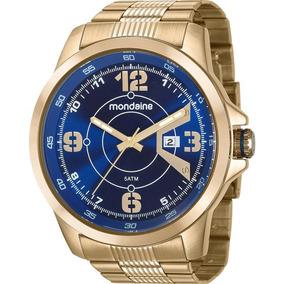 Relógio Mondaine Masculino Analógico 99335gpmvds2 Dourado