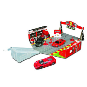Ferrari 599xx Race&play 1/43. Series Race & Play. Bburago.!