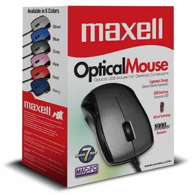 Mouse Optical Mowr-101 Maxell P/usb Tienda Fisica