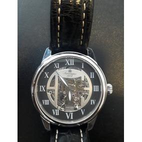 9201912d554 Relógio Lk Colouring Skeleton Pulseira De Couro - Relógios no ...