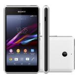 Smartphone Sony Xperia E1 D2104 4gb 3g Branco Vitrine