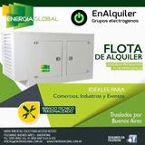 Alquiler De Grupos Electrógenos Generadores De 31 !!! -kva