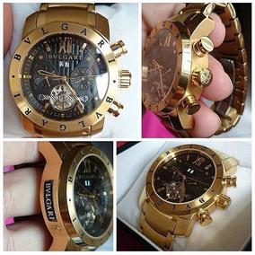 5df0ce55db9 Relogio Bvlgari Iron Man Premium Masculino - Relógios De Pulso no ...