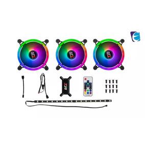 Kit Fans Dt3 Sports Sl120 Trio Aura Sync Rgb Fusion