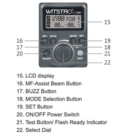 Godox Witstro Ad -360 360w Gn80 Externo Portátil Flash Luz