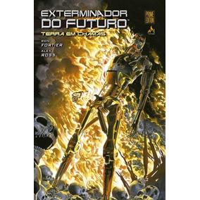 Hq Exterminador Do Futuro Terra Em Chamas