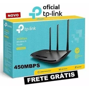 Roteador Wi-fi Tp-link Tl-wr949n 3 Antenas 5dbi 450mbps V6!