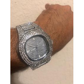 Relógio Cravejado Iced Out Trap Estilo Matuê Patek Importado
