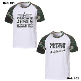 Camiseta Cristã Ou Evangélica Exército De Cristo - Camisetas e ... 6293ccda030ca