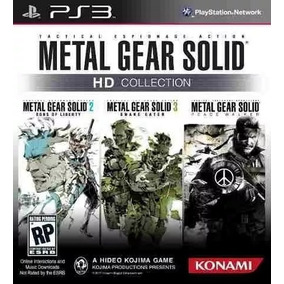 Metal Gear Solid Ps3 Psn Collection Envio Na Hora!
